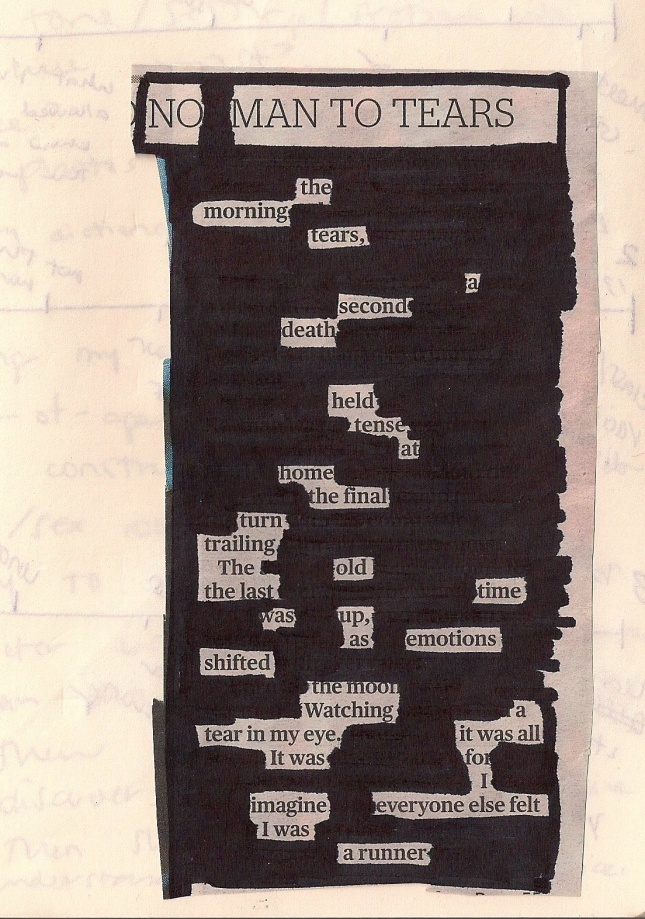 Black-out poetry